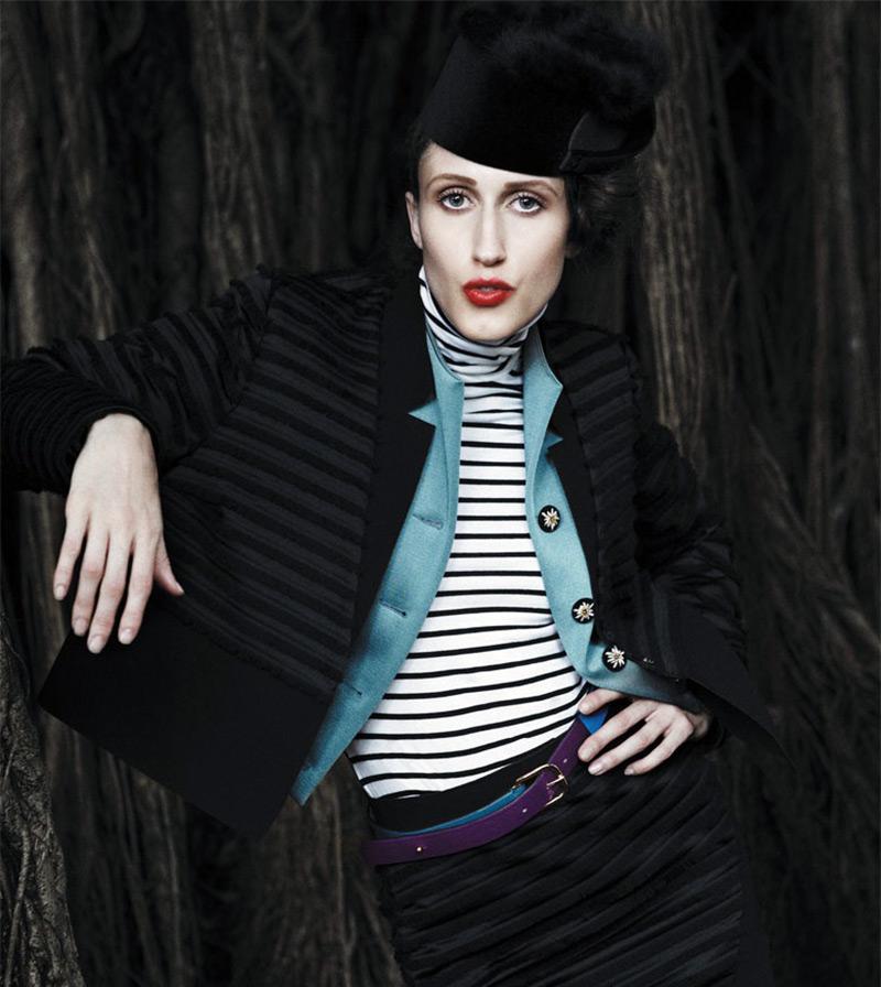Анна Кливленд - грациозная модель