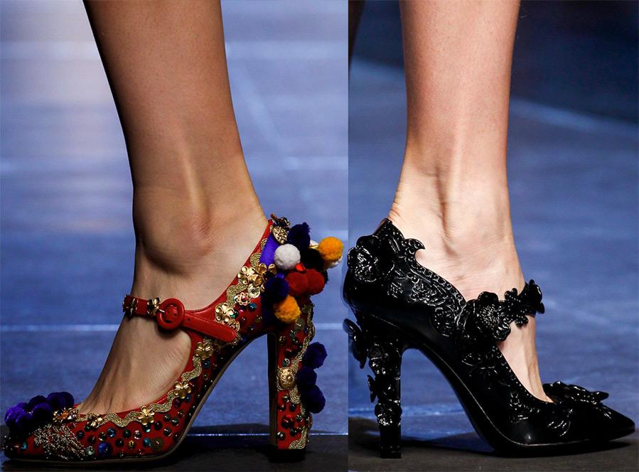 Модные женские туфли Dolce & Gabbana