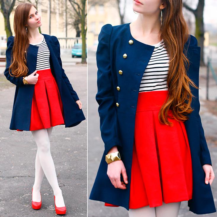 Морской стиль в одежде и аксессуарах