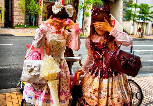 Девушки в стиле Лолиты из Малайзии