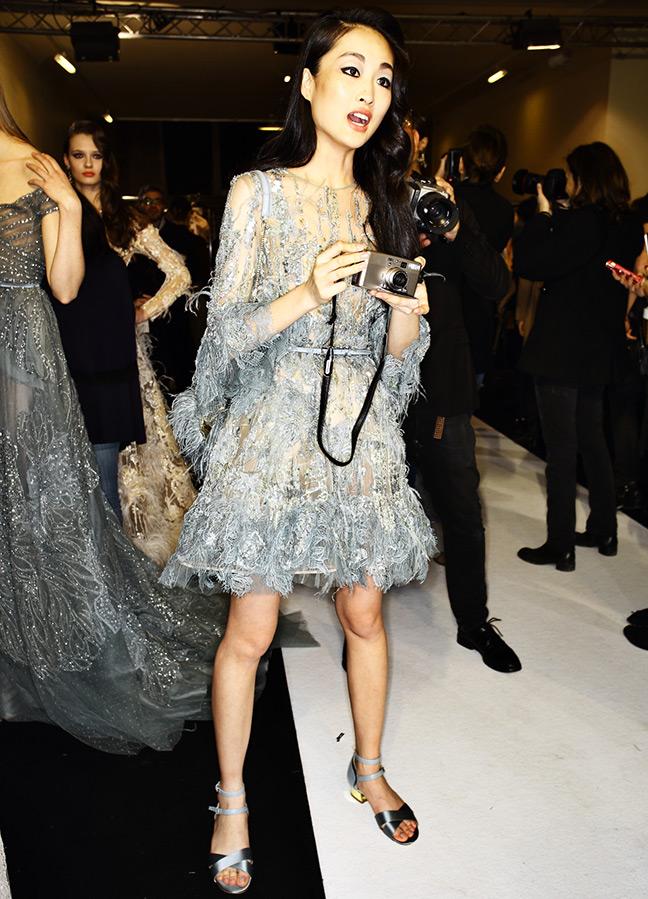 Jing Wen топ-модель из Поднебесной