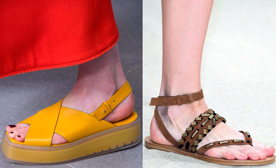 Женская обувь весна-лето 2019
