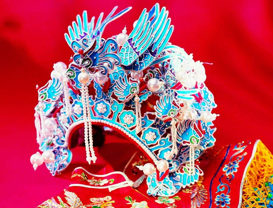 Свадебная корона китаянок