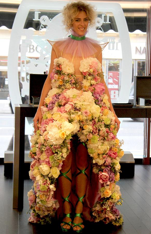Картинки, картинки свадебное платье из цветов