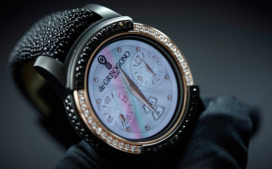 Встречаем умные часы в золотом корпусе с бриллиантами