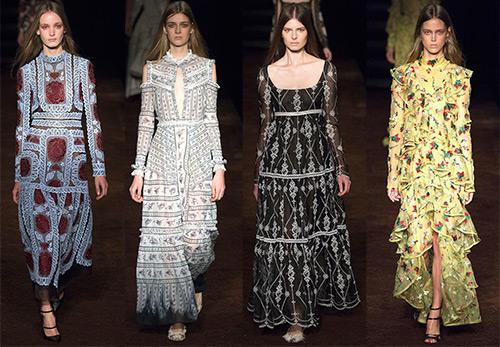 Длинные платья с рукавом – 44 варианта