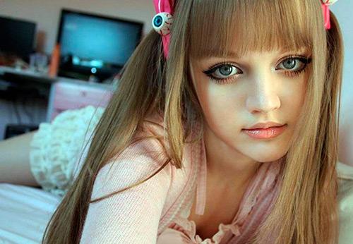 Живые куклы в фотографиях и мечтах
