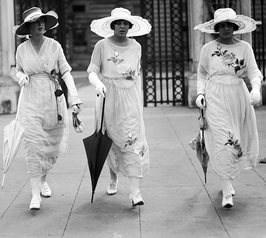 Женская мода 1919-1923