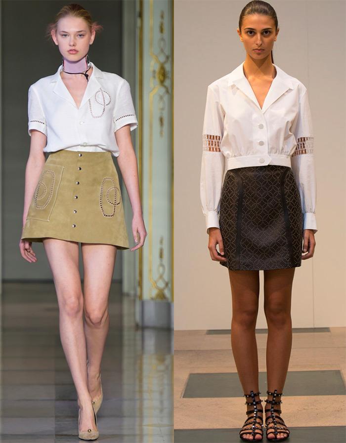 Модные блузы, топы и блузки весна-лето 2016