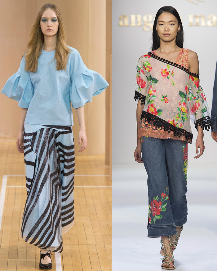 Модные туники весна-лето