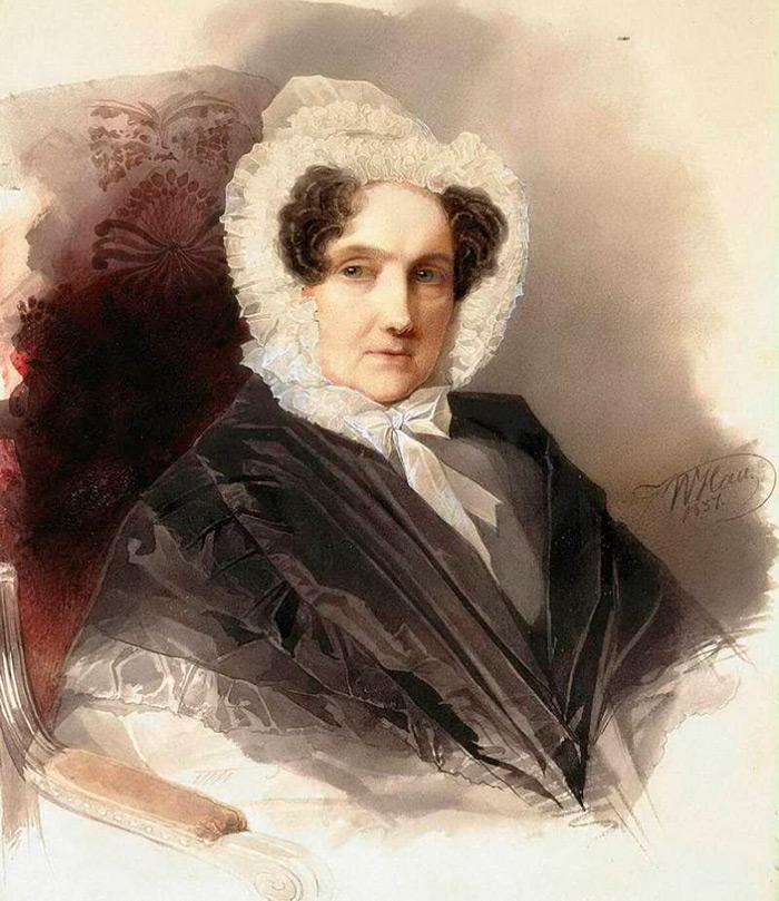 История женских портретах от художника Гау