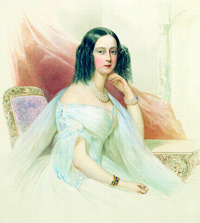 История XIX века в красивых женских портретах