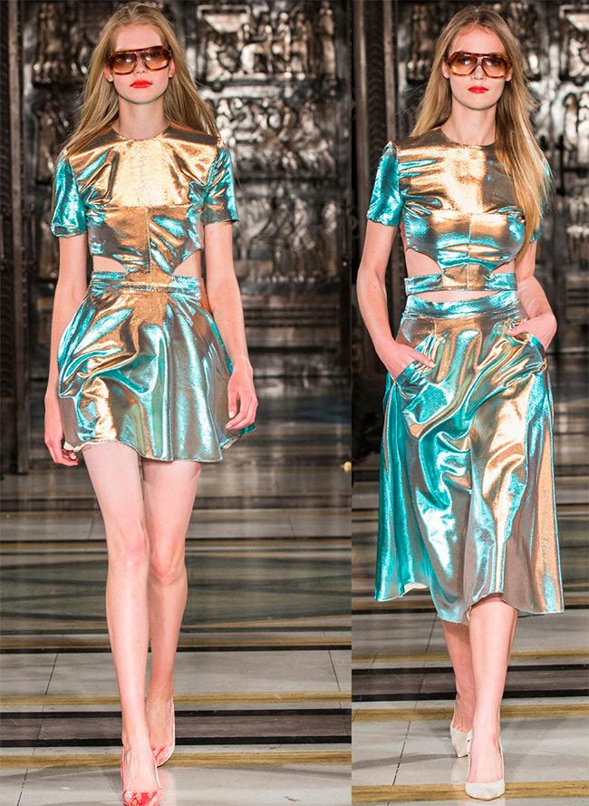 Блестящие платья Felder Felder