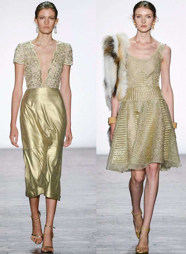 платья Dennis Basso на выпускной 2016