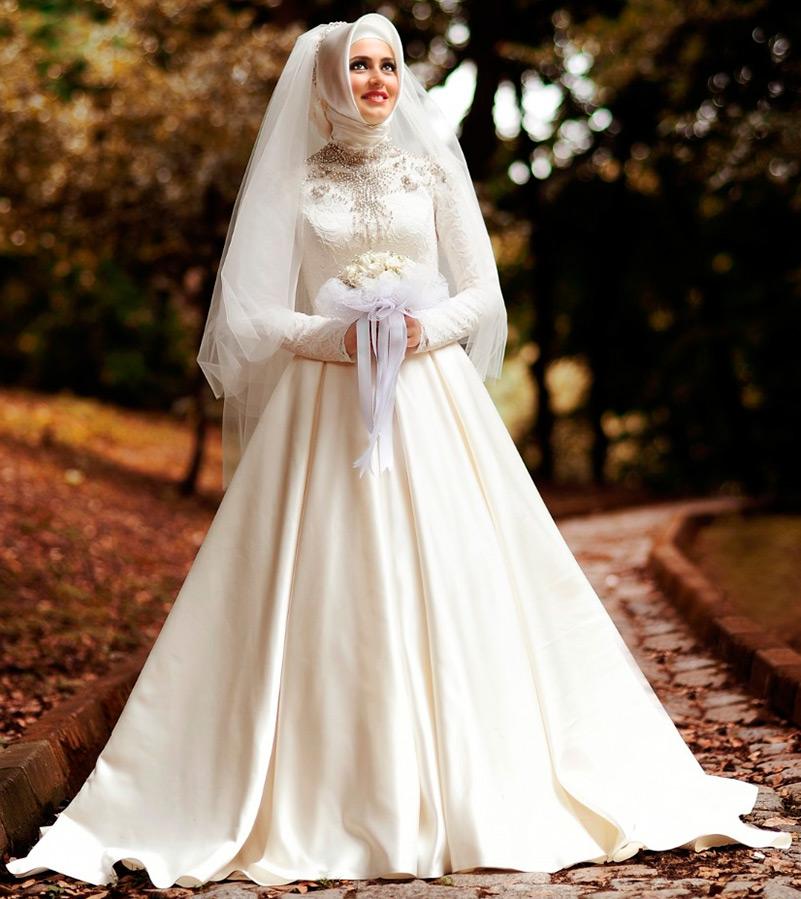 Свадебный хиджаб фото