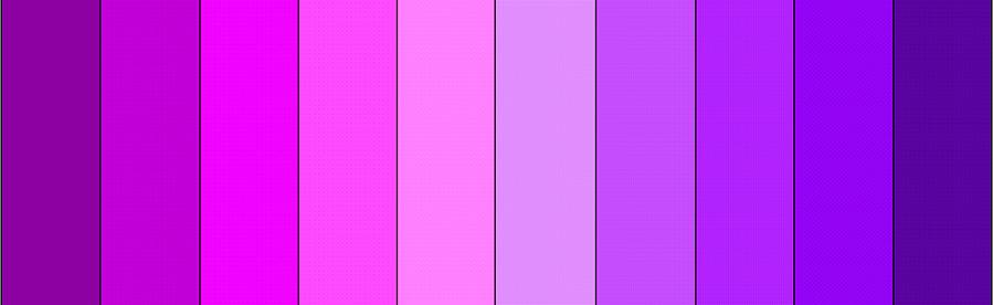 Фиолетовый цвет в сексуальности