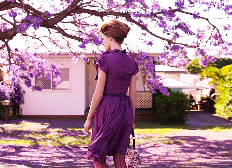 Фиолетовый цвет сексуальной неудовлетворённости