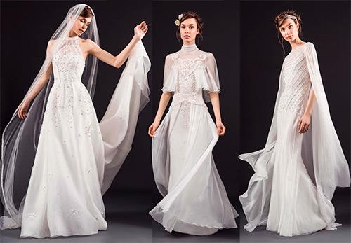 10 шикарных свадебных платьев от Temperley