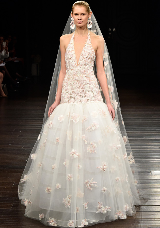 Самые восхитительные свадебные платья 2017