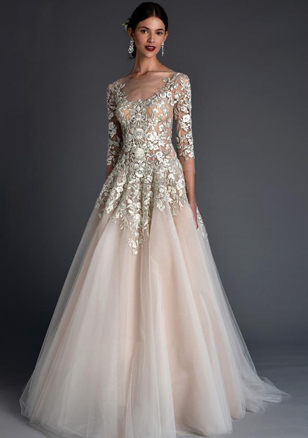 Самые красивые свадебные платья.фото.