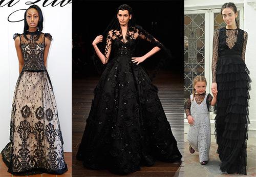 7 черных свадебных платьев для мистической свадьбы