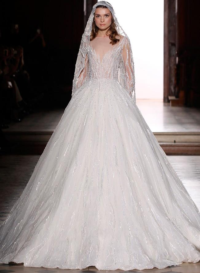 Свадебное платье из кутюрной коллекции
