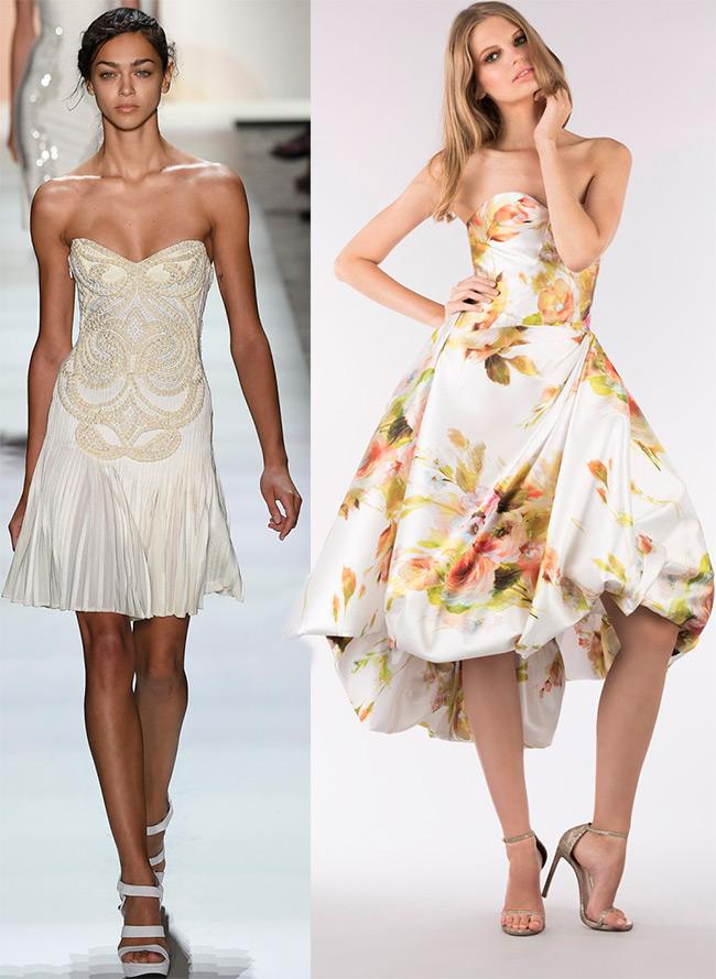 платье – бюстье