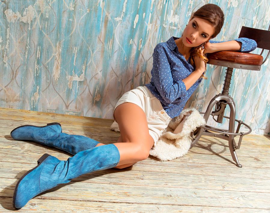 Дизайнерская текстильная обувь Az-ART