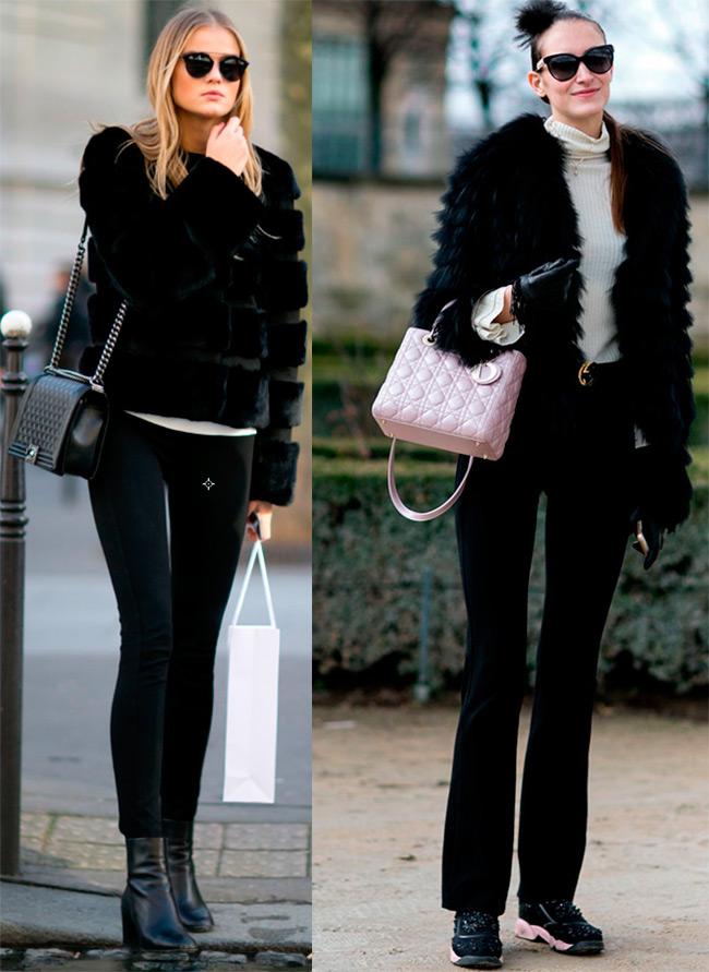 Уличный стиль одежды моделей