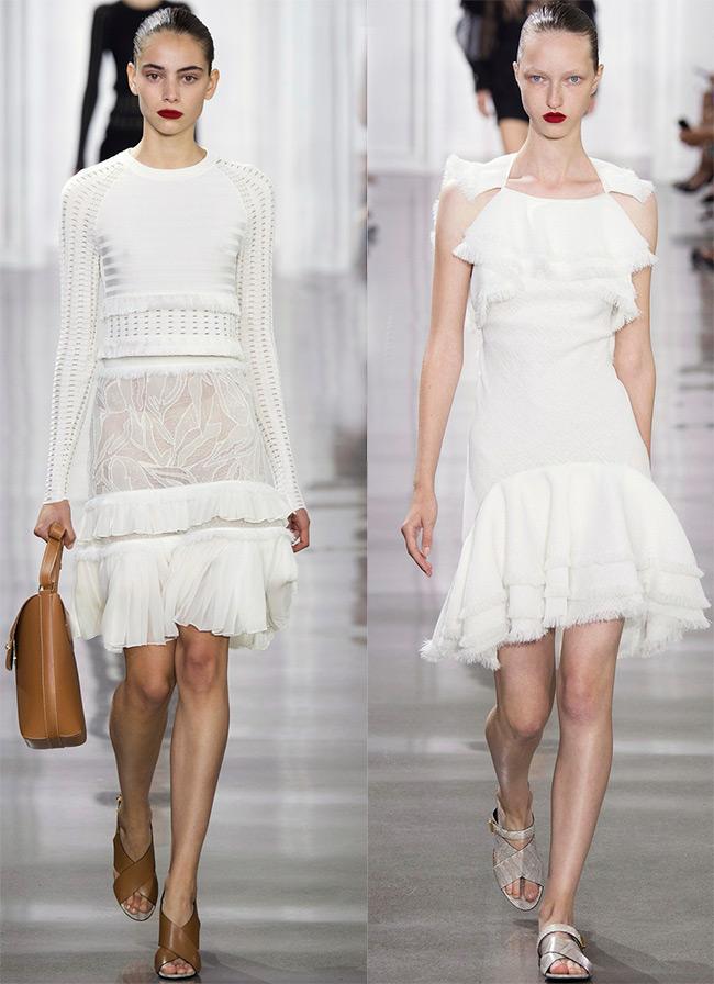 Белые платья для необычной свадьбы