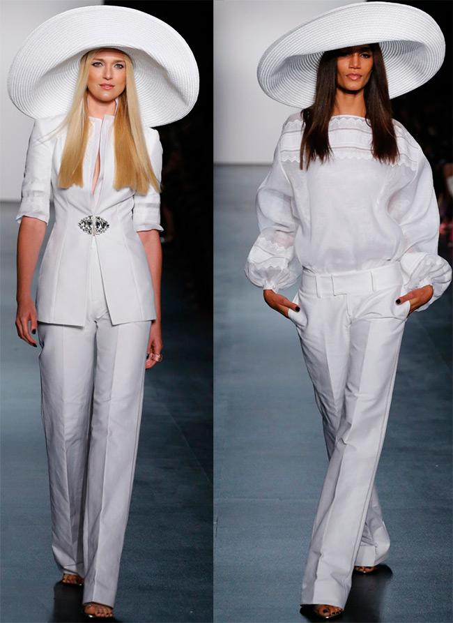 Белые наряды для необычной свадьбы
