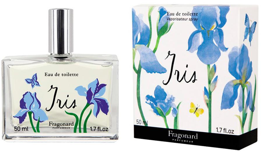 Роскошный аромат Iris Fragonard