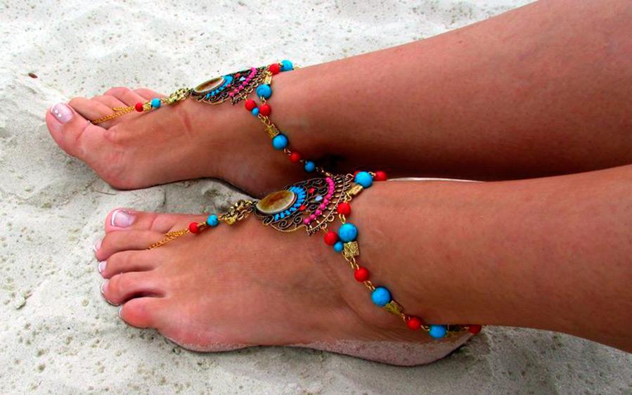 пляжные аксессуары для ног