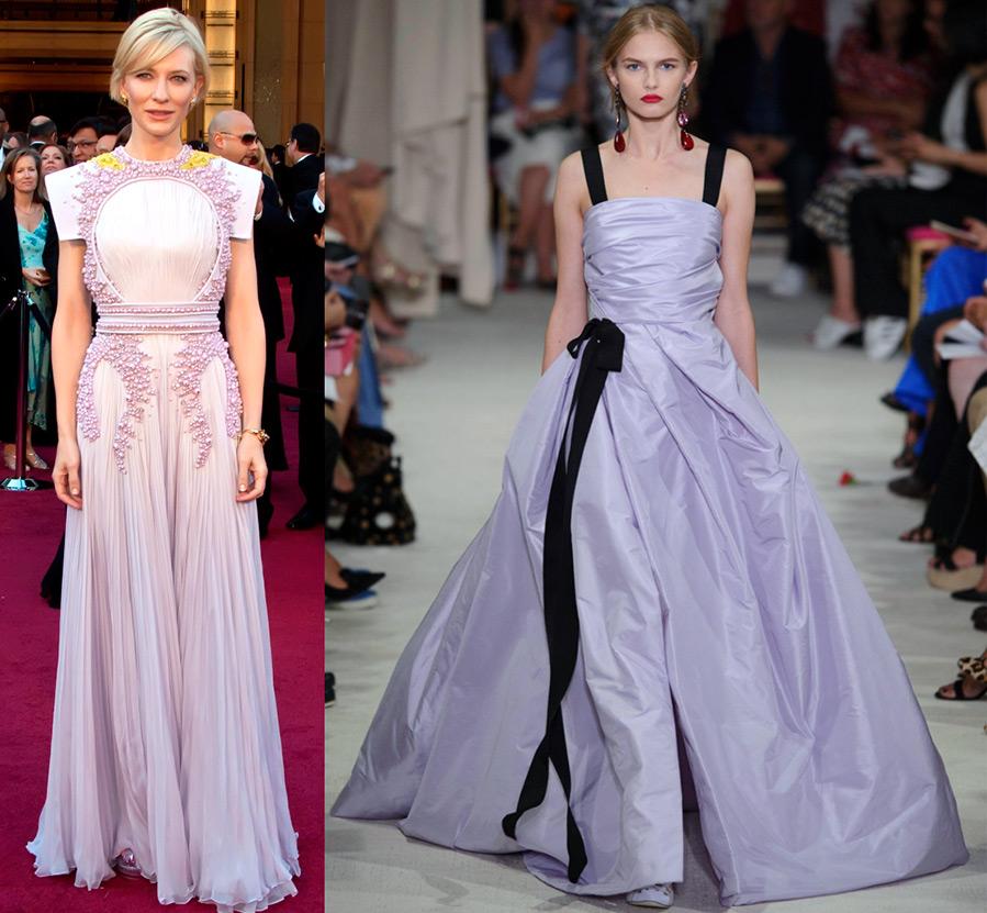 Платья лиловых оттенков