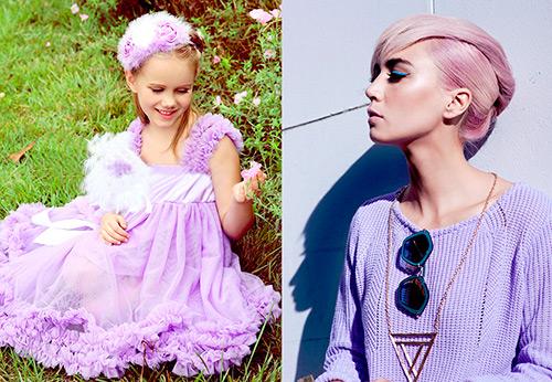Лиловый цвет и фото самых красивых лиловых образов