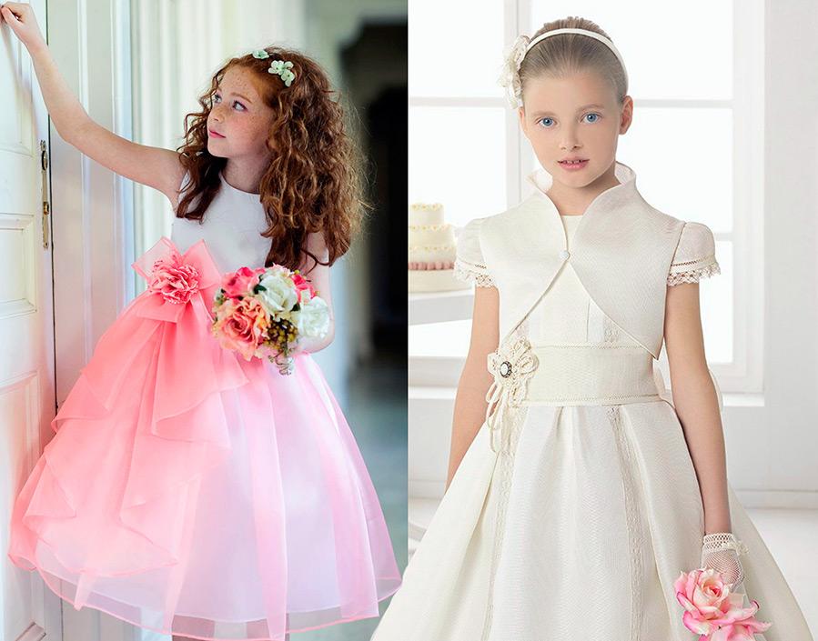 Самое красивое платье для девочки сшить