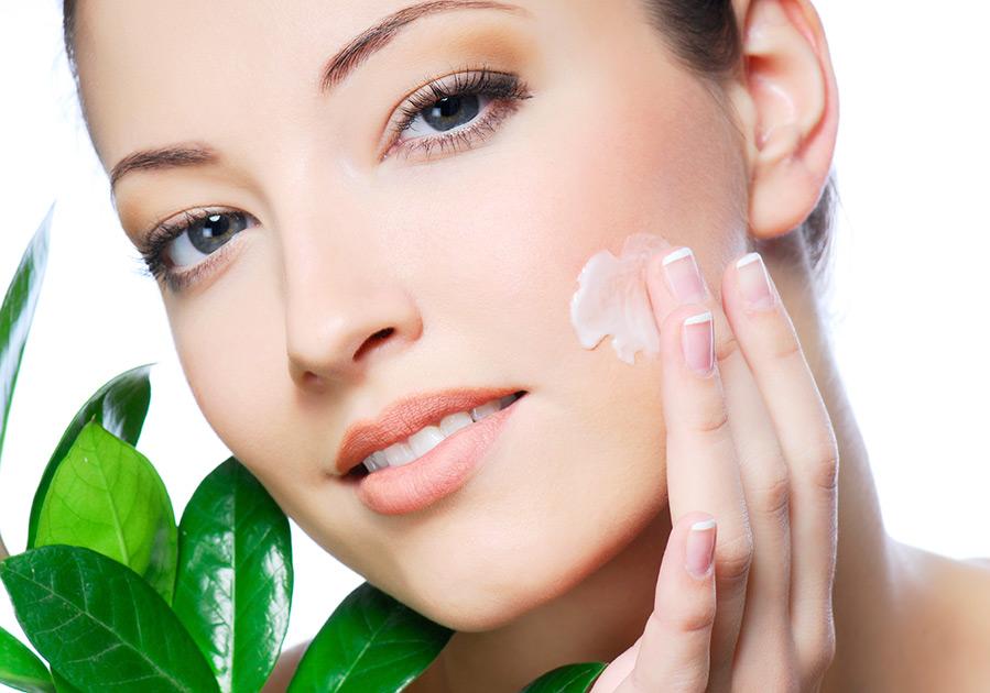 Как крем проникает сквозь слои кожи
