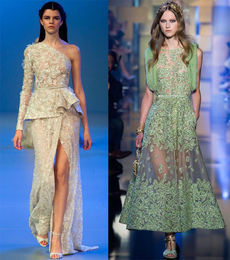 Роскошное платье Elie Saab