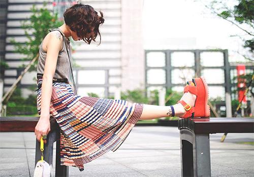 50 летних образов азиатских девушек из Инстаграм