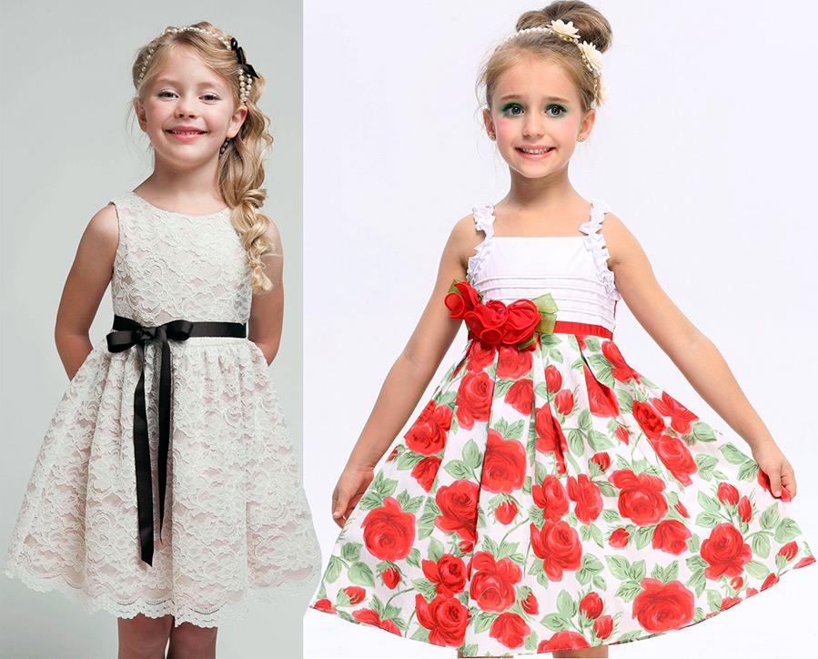 Детские платья зайцев
