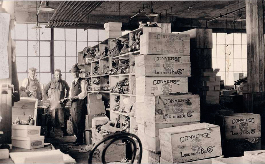 Кеды Converse – история создания бренда