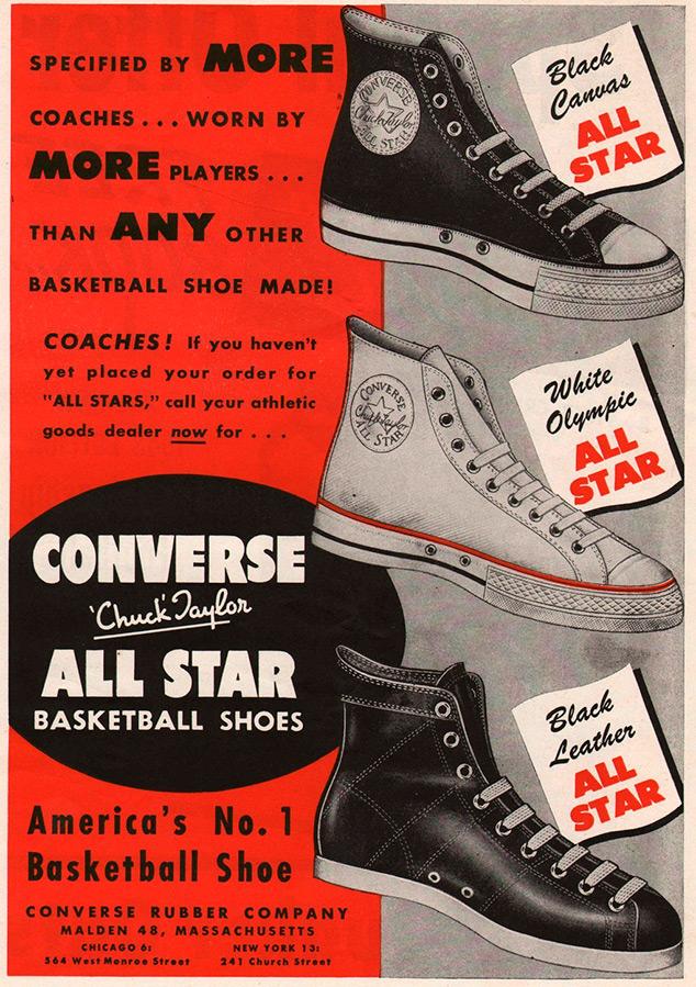 Кеды Converse – история