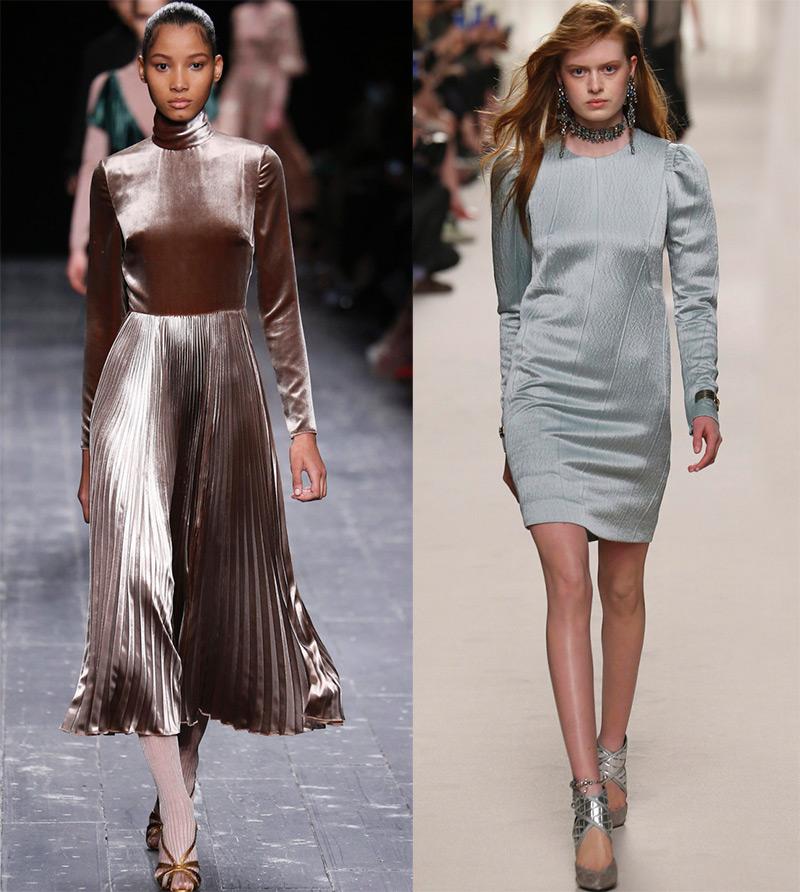 Блестящие платья 2016-2017
