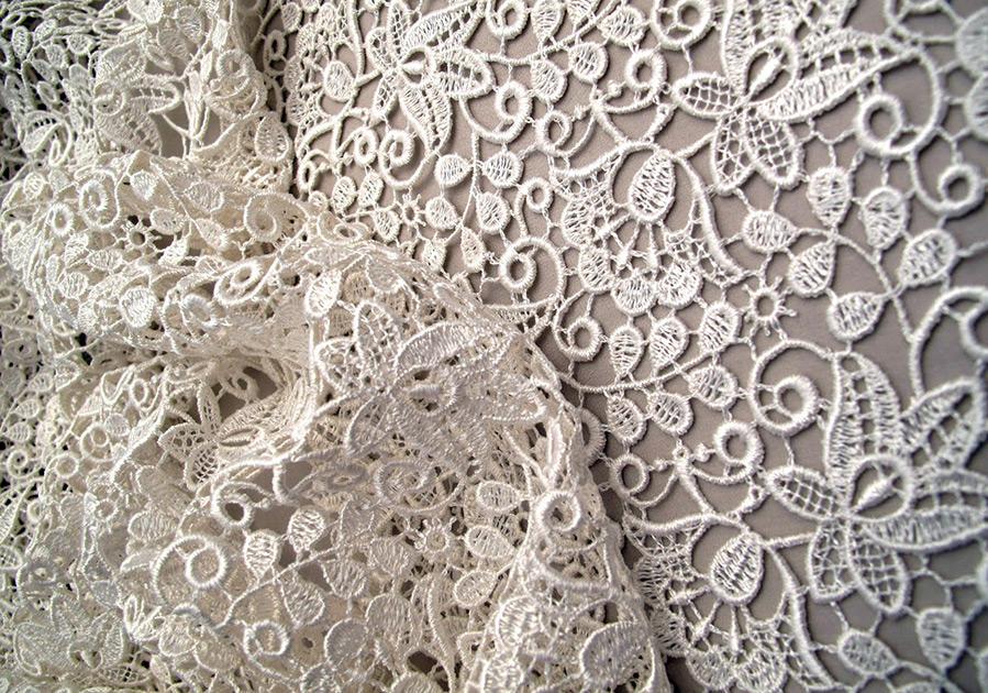 Прекрасные платья из гипюра и кружевной гипюр в истории