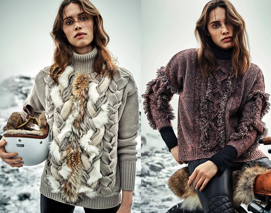 модные джемпера 2017 женские фото с описанием вязания спицами