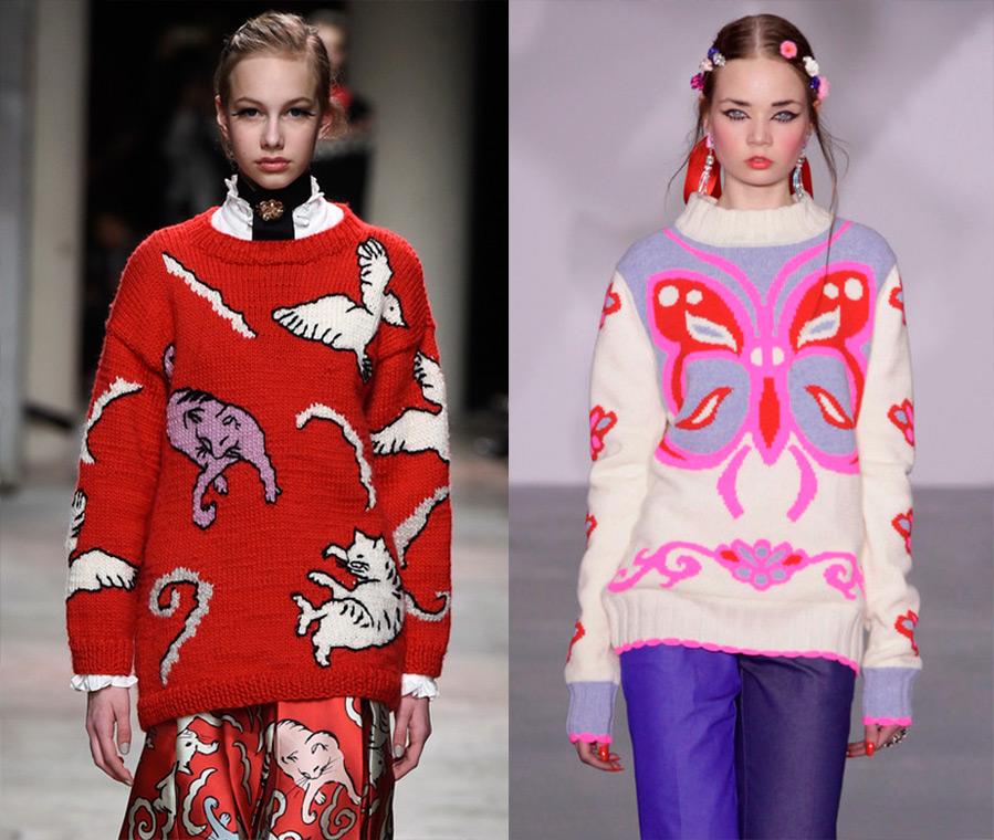 Женский модный пуловер с доставкой