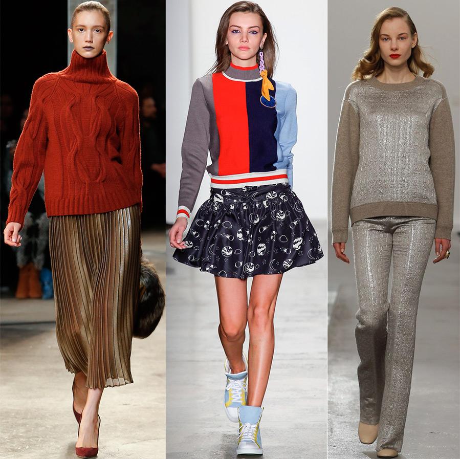 Модный женский свитер 2017