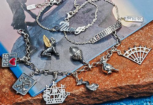 Коллекция ювелирных украшений, посвященная Санкт-Петербургу