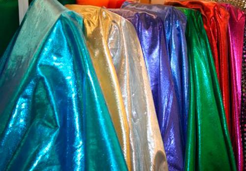 История о роскошной ткани ламе с блестящей металлической нитью