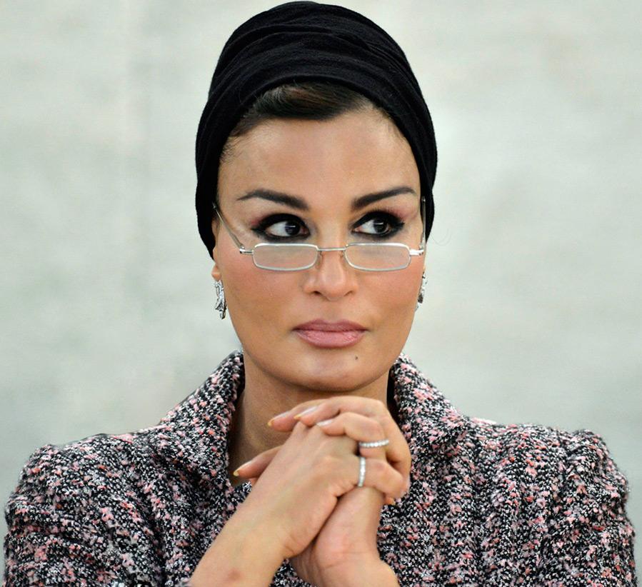 Шейха Моза бинт Насер аль-Миснед – лучшие образы